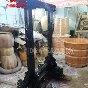Giá treo chuông đồng cao 1 mét 100 kg