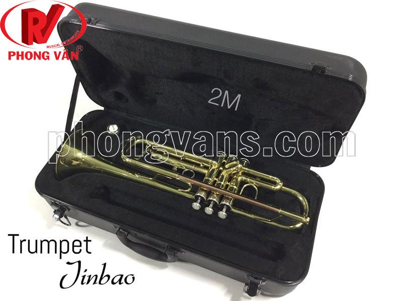 Kèn trumpet 2 màu hãng Jinbao