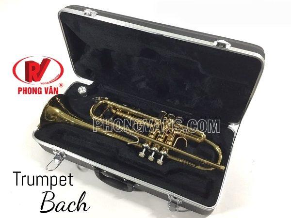 Kèn trumpet vàng hãng Bach
