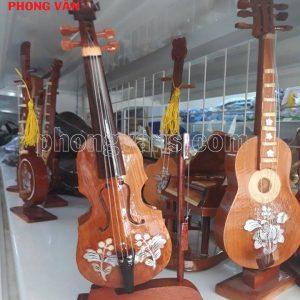Nhạc cụ đàn violin mô hình