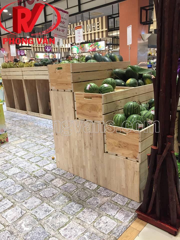 Thùng gỗ pallet đựng trái cây tphcm
