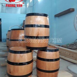 Thùng gỗ thông trưng bày cao 40 cm