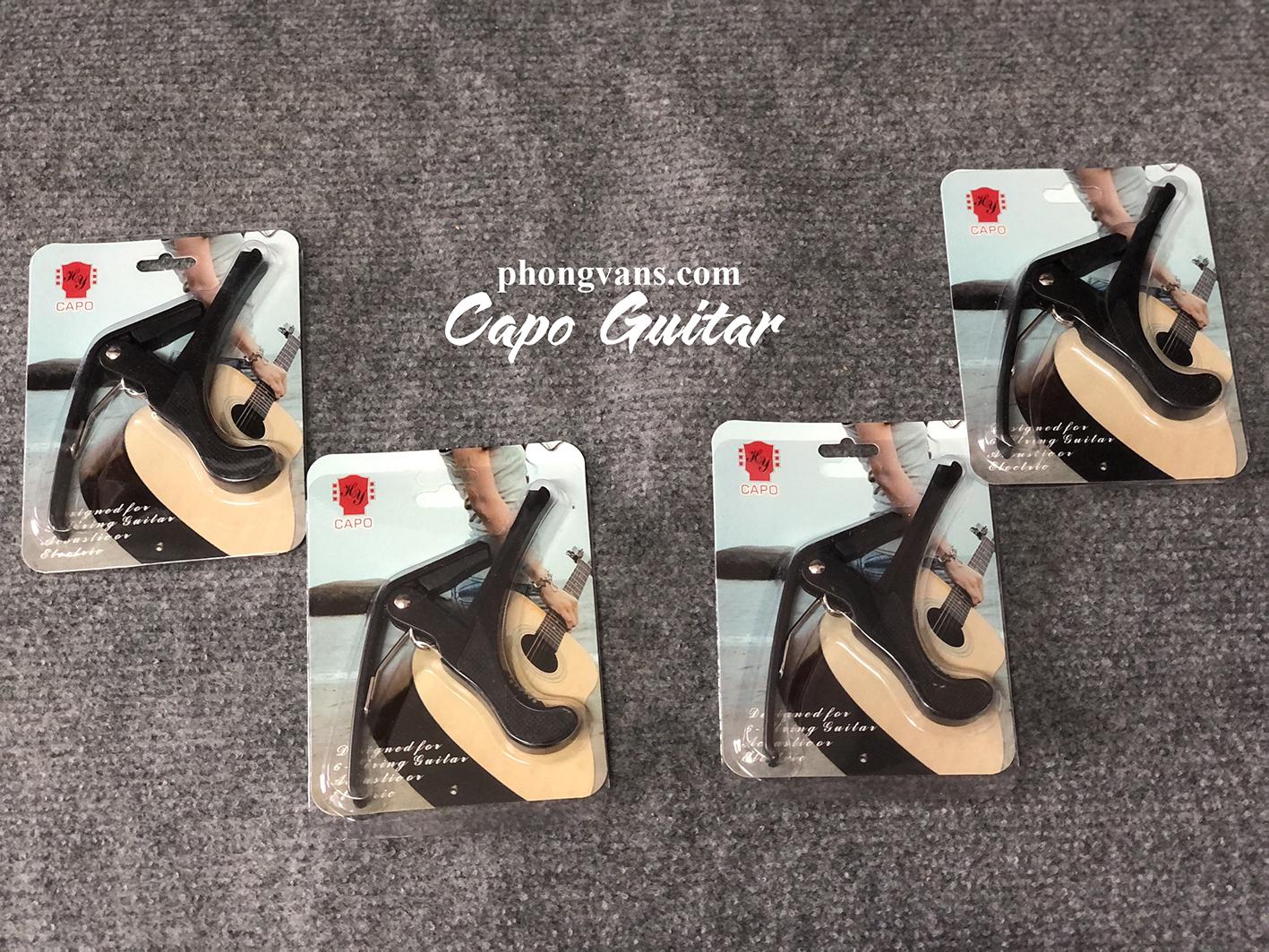 Capo đàn guitar ukulele