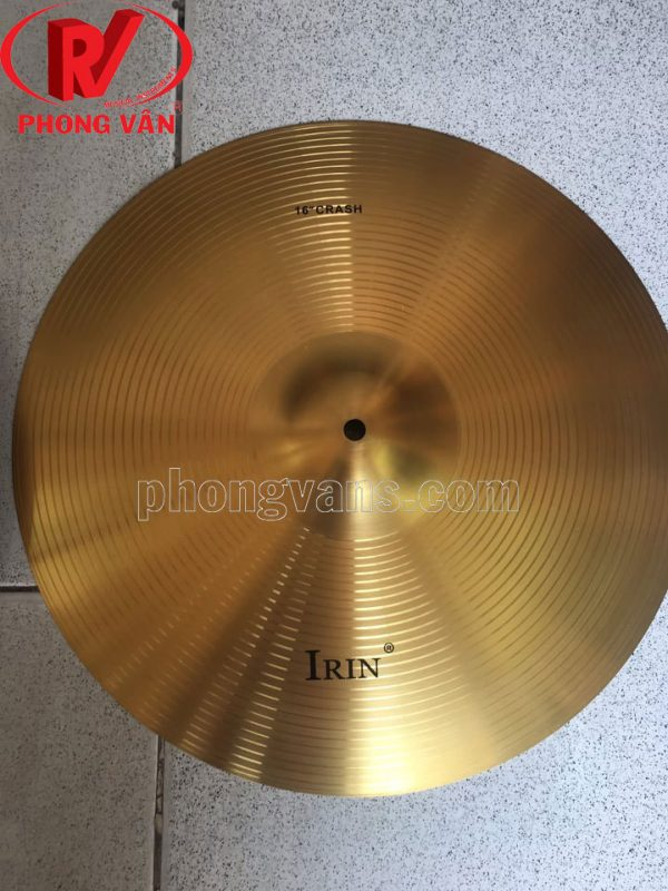 Xanhpan đồng Cymbal 16in 40cm hiệu Irin