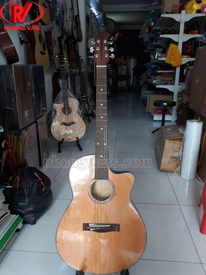 Đàn guitar gỗ ván ép mặt thông VE70