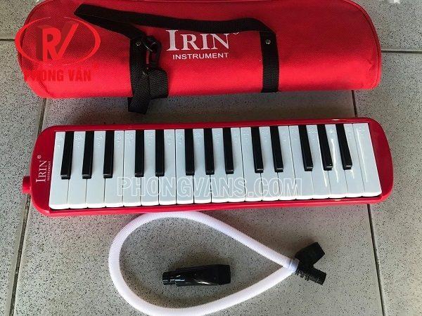 Kèn melodion 32 phím IRIN màu đỏ