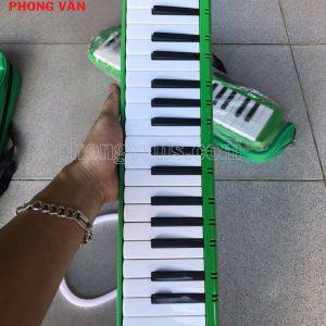 Kèn melodion melody 37 phím IRIN màu xanh
