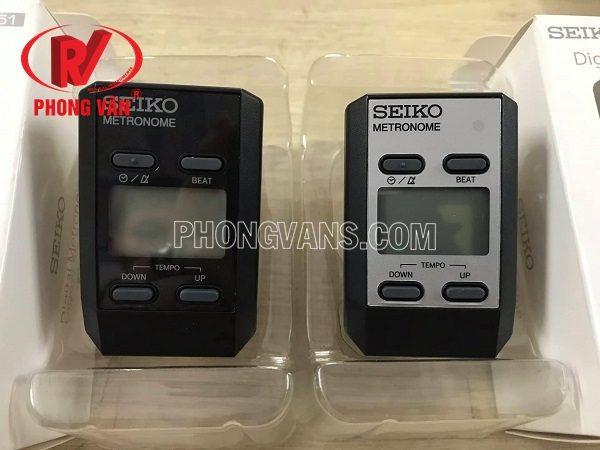 Máy đập nhịp điện tử Seiko metronome