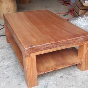 Bàn ngồi bệt gỗ thông