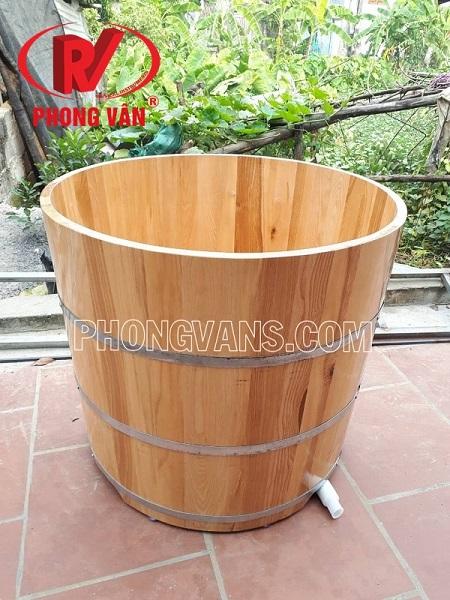 Bồn tắm gỗ tròn giá bao nhiêu?