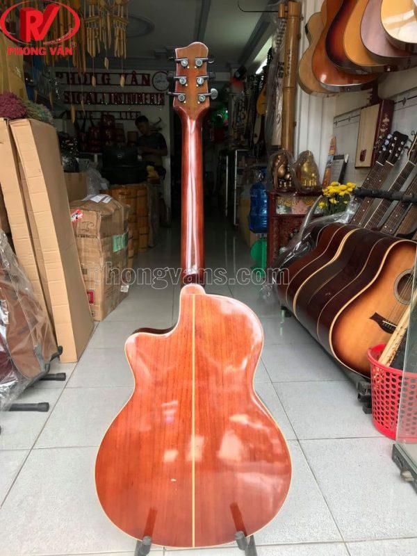 Đàn guitar acoustic gỗ hồng đào Hdj130 có ty