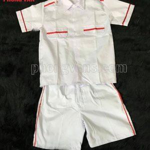 Đồng phục nghi thức đội sooc quần ngắn áo ngắn