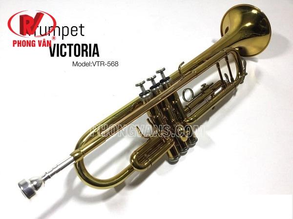 Kèn trumpet Victoria nhiều màu sắc