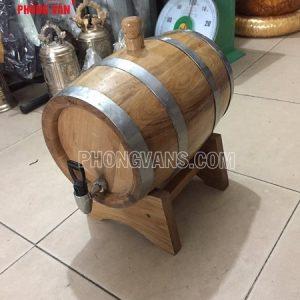 Thùng rượu gỗ sồi 8 lít