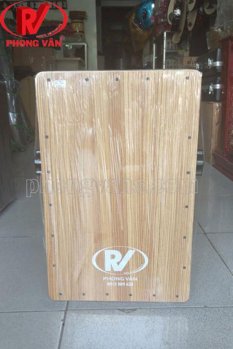Trống cajon gỗ thông núm vặn dây snare có EQ