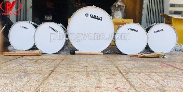 Trống đội inox size lớn Yamaha