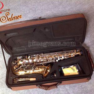 Kèn saxophone alto Selmer vàng