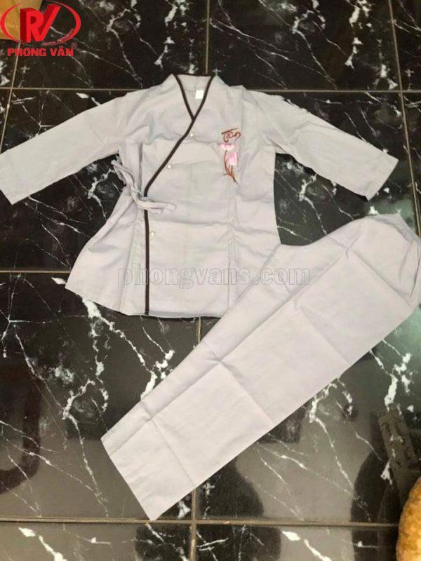 Quần áo phật tử cho bé đi chùa