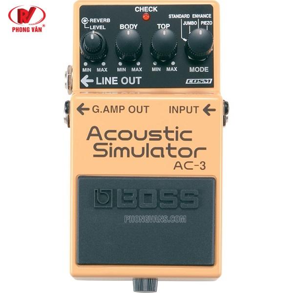 Ampli BOSS Roland AC-3 - Effect Guitar