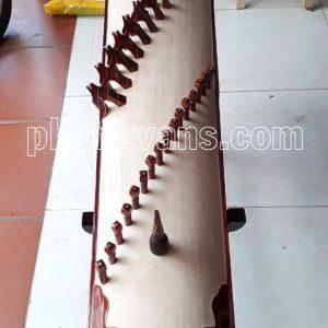 Đàn tranh 16 dây gỗ hương đỏ khảm trai