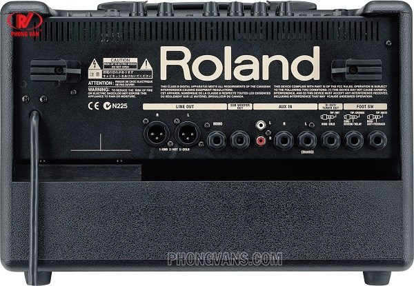 Amply cho đàn Guitar Roland AC-60