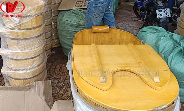 Bán sỉ thùng tắm gỗ chậu ngâm chân spa