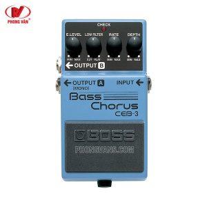 Bộ hiệu ứng Effect BOSS CEB-3 |Bass Chorus
