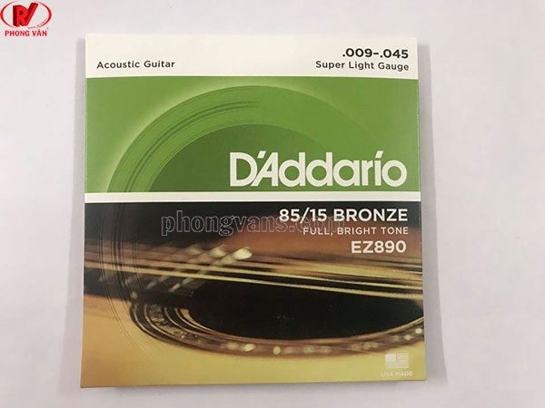 Dây Đàn Guitar Acoustic D'Addario đủ size