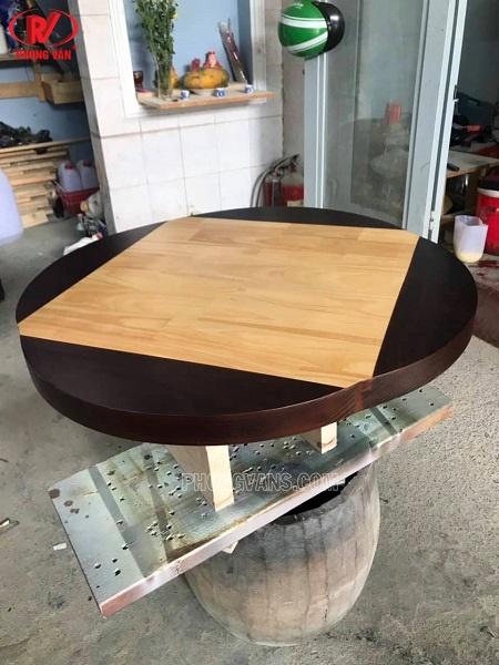 Mặt bàn gỗ cánh bướm rộng 75cm