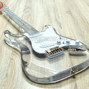 vOrder đàn guitar điện acrylic trong suốt