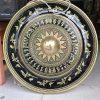 Chiêng đồng 60cm khắc hoa văn trống đồng