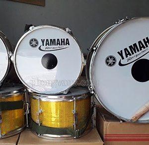 Trống đoàn đội Yamaha màu vàng