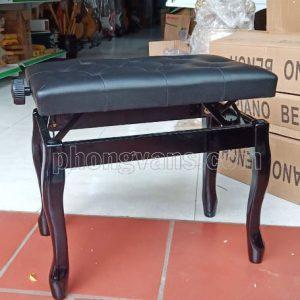 Băng ghế ngồi đánh đàn piano chân cong
