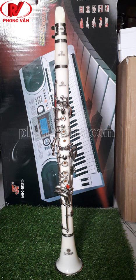 Kèn Clarinet Jupiter JCL-700NQ màu trắng
