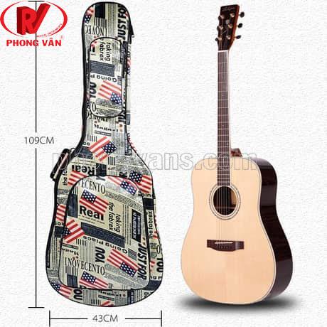 Túi đựng đàn guitar vải oxford cao cấp