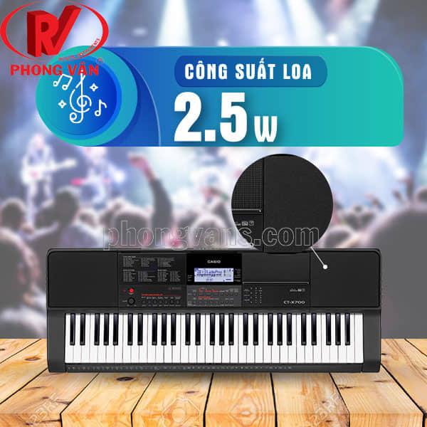Bán sỉ đàn organ Casio CT X700 giá rẻ