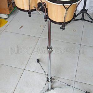 """Bộ trống bongo 6in 7"""" có chân đỡ"""