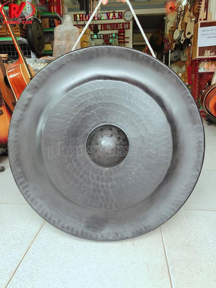 Chiêng đồng 60 cm màu đen