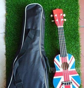Đàn ukulele hình lá cờ nước Anh