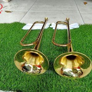 Kèn trumpet đồng vàng không phím bấm