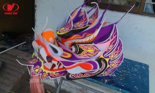 Mẫu đầu múa rồng đẹp