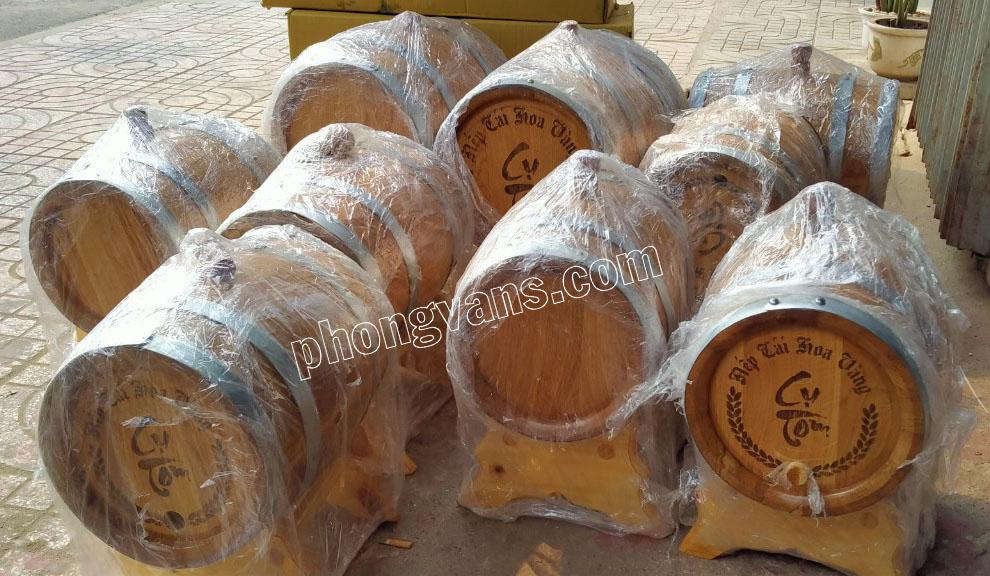 Bán sỉ thùng rượu gỗ sồi nhập khẩu