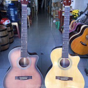 Đàn guitar acoustic gỗ hồng đào HDJ100 giá sinh viên