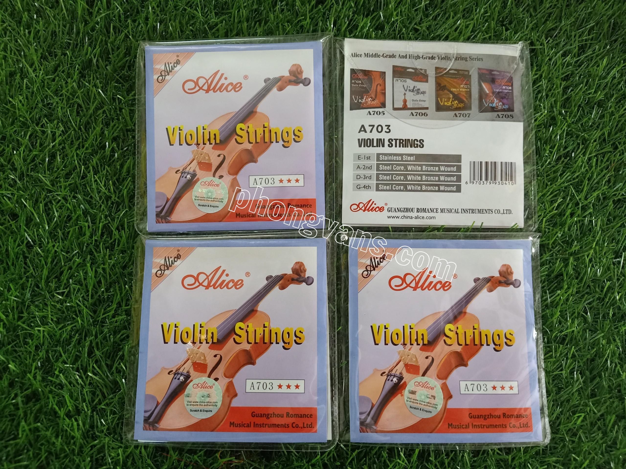 Dây đàn Violin Alice A703