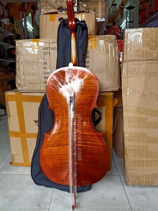 Đàn cello size 4/4 vân gỗ đẹp