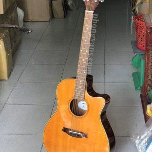 Đàn guitar acoustic gỗ hồng đào Hdj150 có ty