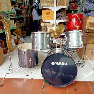 Trống jazz Yamaha màu xám
