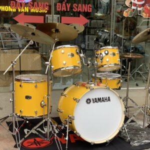 Bộ trống jazz Yamaha màu vàng cao cấp
