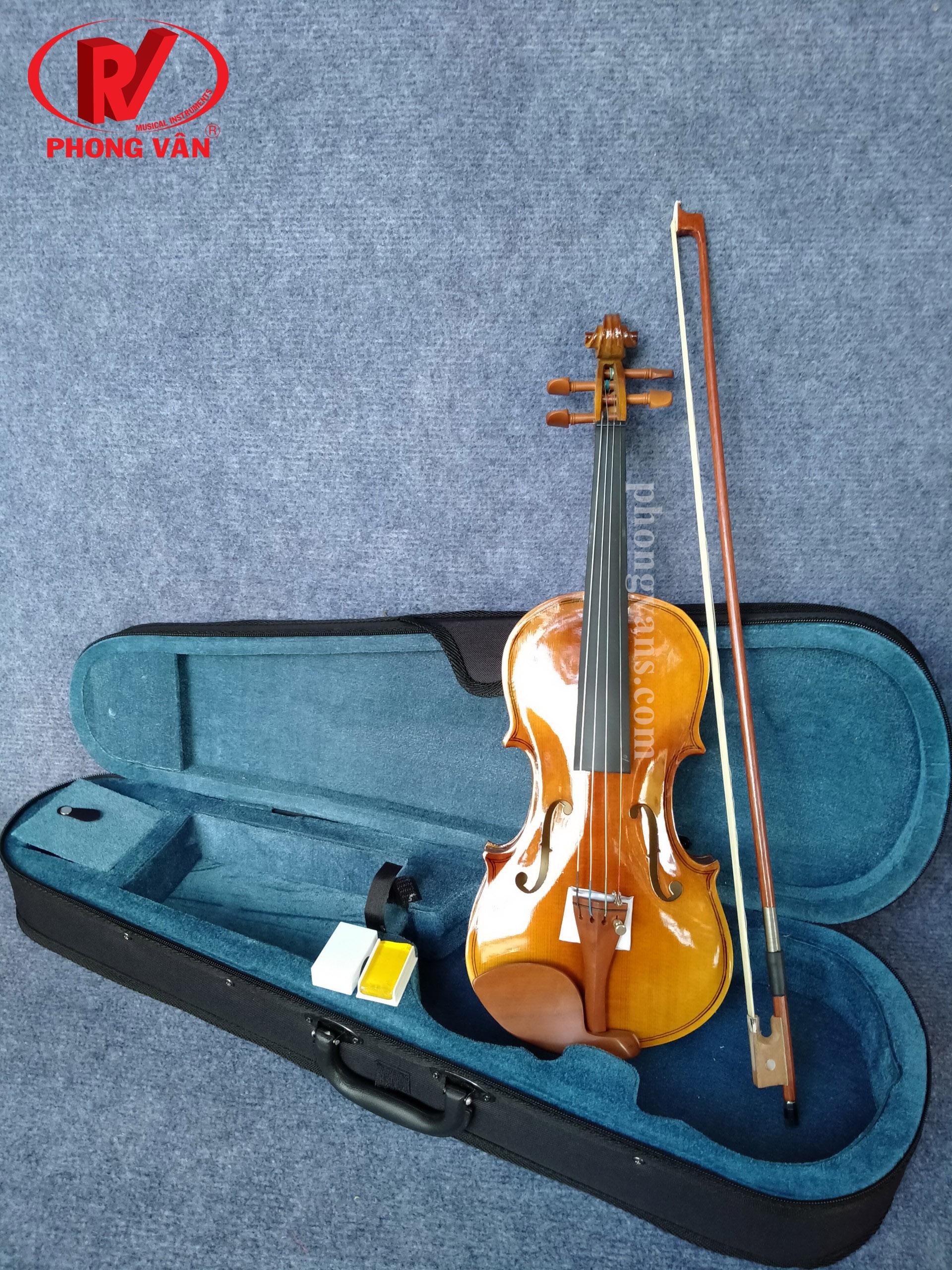 Đàn violin size 1/2 vân gỗ (Vĩ cầm)