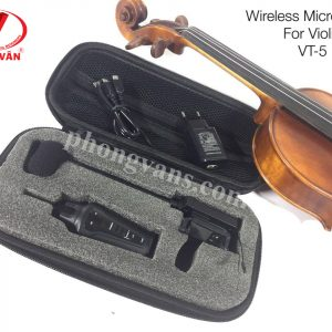 EQ Wireless Microphone cho Violin VT-5